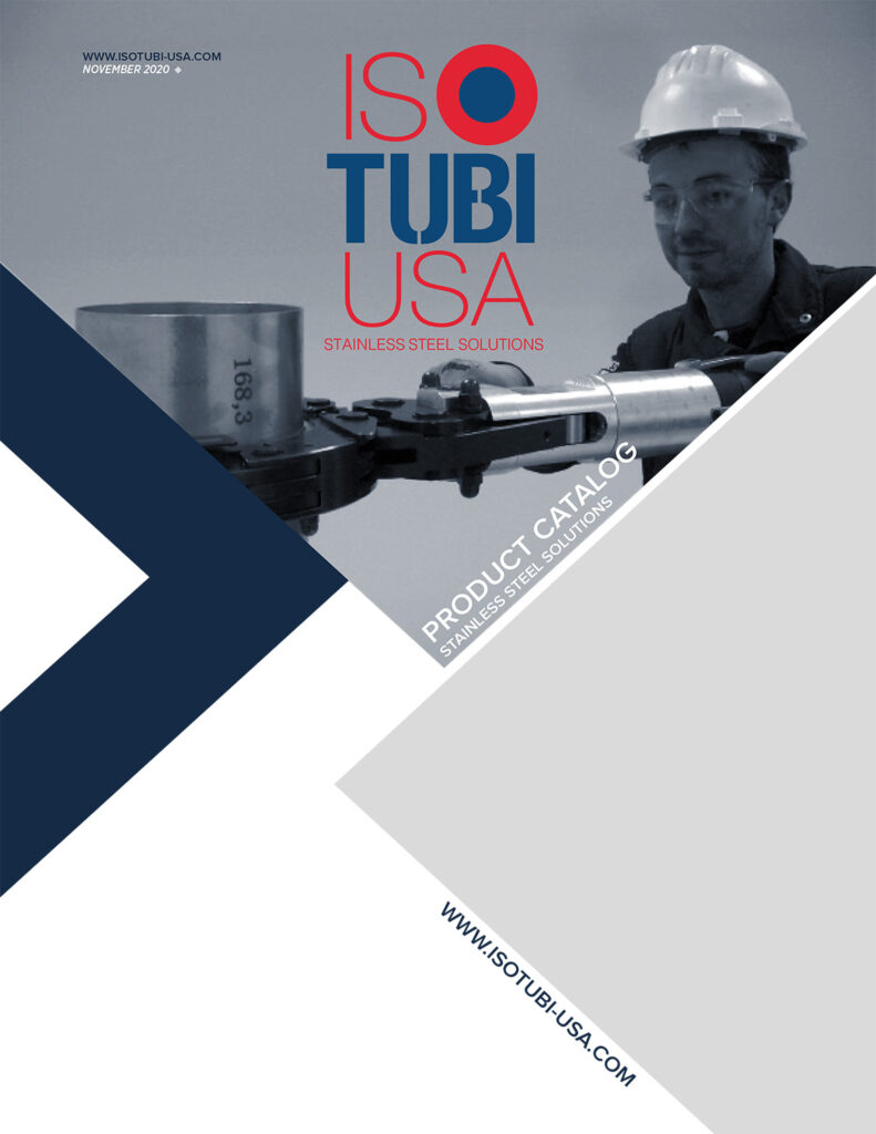 IsoTubi USA - Stainless Steel Press - Product Catalog Cover Thumbnail
